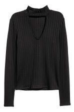 V-neck jumper - Black - Ladies | H&M GB 3